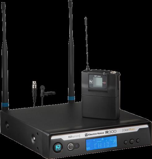 EV R300 Lapel Wireless Microphone