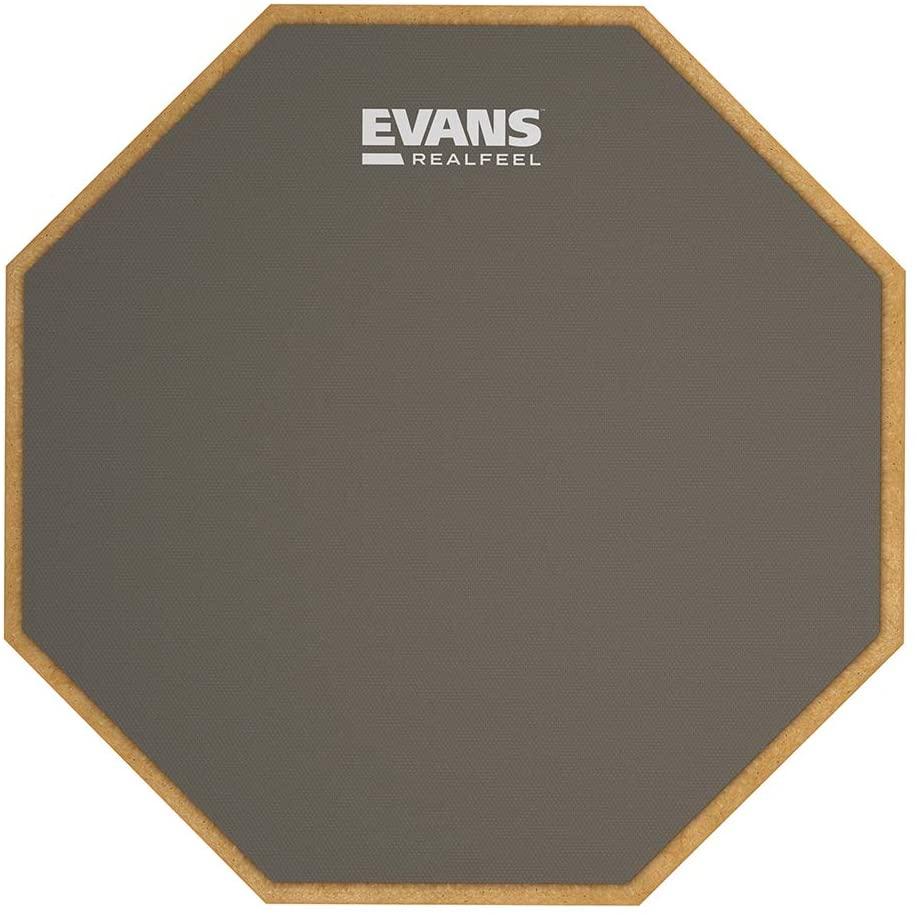 Evans Real Feel Practice Drum Pad 7 Inch