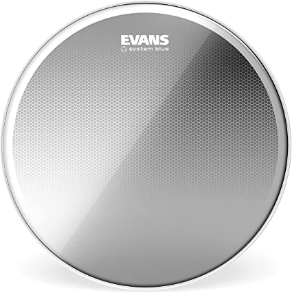 Evans System Blue SST Marching Tenor Drum Head 12 Inch