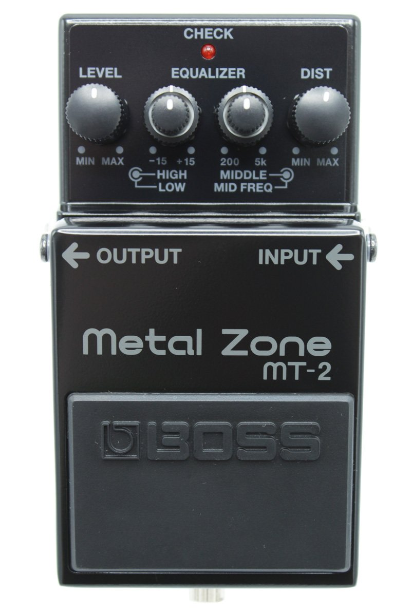 Boss MT-2 Metal Zone 30th Anniversary Edition Blackout Pedal