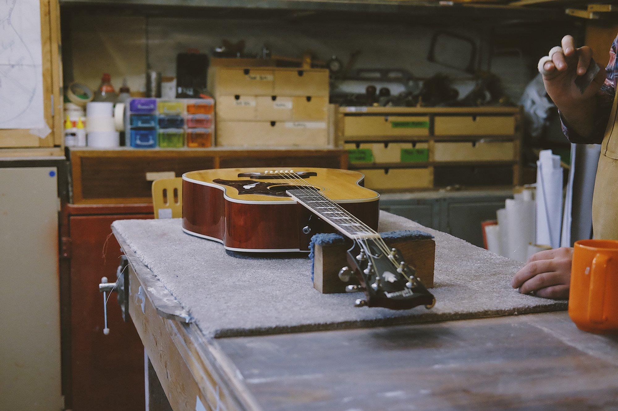 Haggertys Music string repair