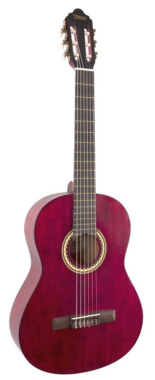 Valencia Series 200 4/4 Classical, Trans Wine Red