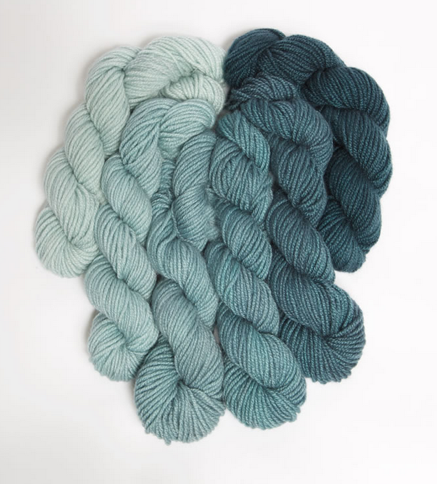 Endless Ombre - Scarab Teal