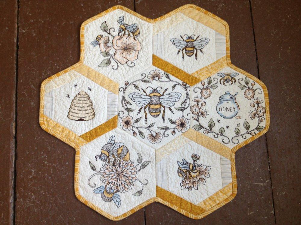 Anita Goodesign Honeycomb Quilt : honeycomb quilt - Adamdwight.com
