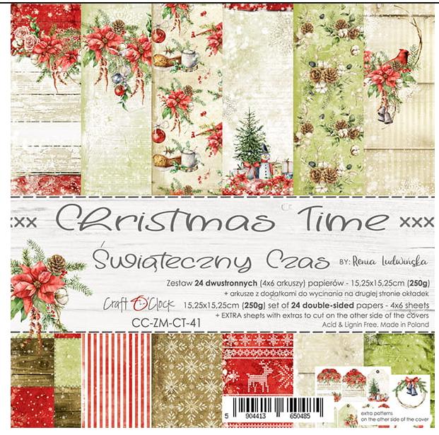 CHRISTMAS TIME - CC-ZM-CT-41  6x6