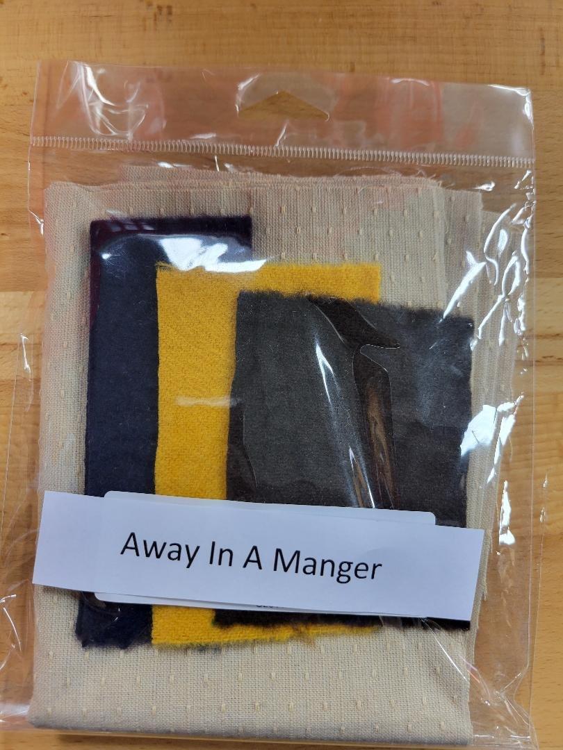 Away In A Manger Kit