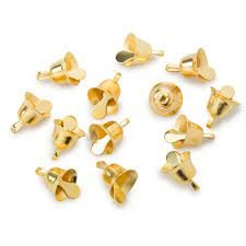 12 Gold Liberty Bells