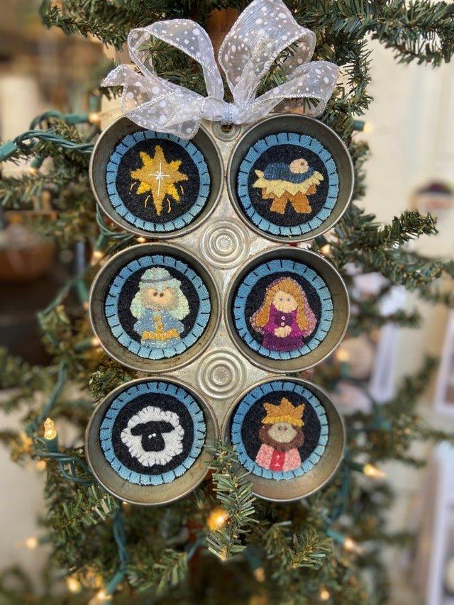 Cupcakes Nativity