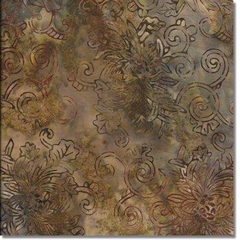 SEWBATIK 44 Rayon - Floral Outline - Coconut
