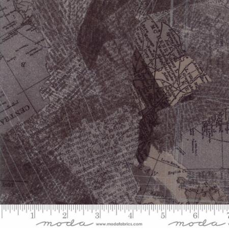 Moda- Compositions- Maps (Charcoal)