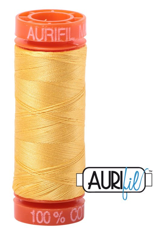 Aurifil- 1135 (Pale Yellow) x 220 yds