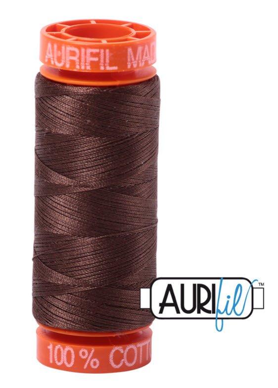 Aurifil- 1285 (Medium Bark) x 220 yds