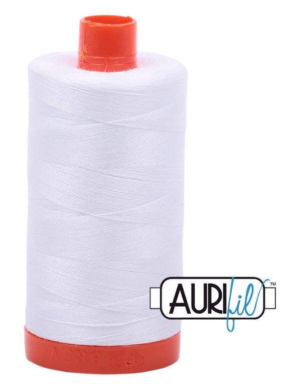 Aurifil- 2024 (White) x 1422 yds