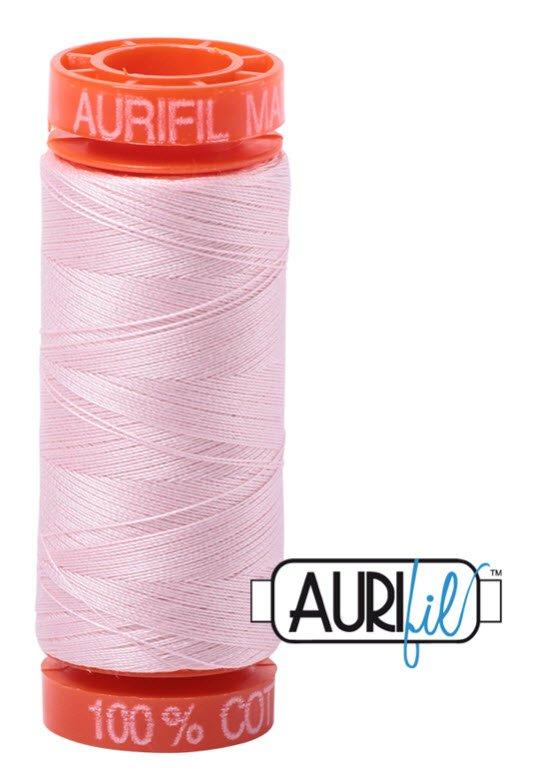Aurifil- 2410 (Pale Pink) x 220 yds