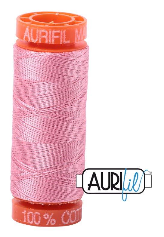 Aurifil- 2425 (Bright Pink) x 220 yds