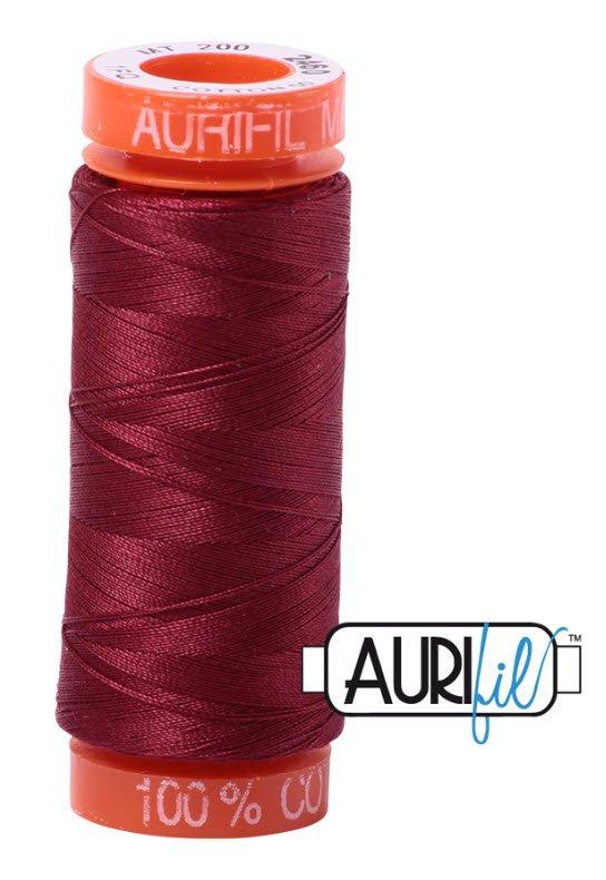 Aurifil- 2460 (Dark Carmine Red) x 220 yds