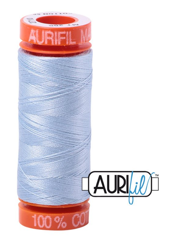 Aurifil- 2710 (Light Robins Egg) x 220 yds