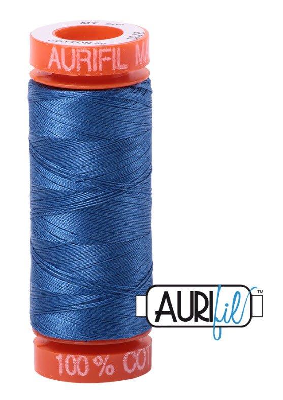 Aurifil- 2730 (Delft Blue) x 220 yds