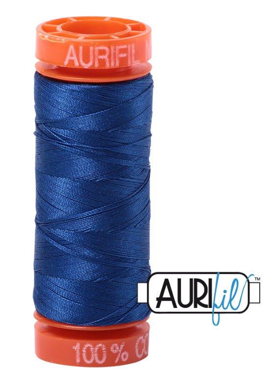 Aurifil- 2740 (Dark Cobalt) x 220 yds