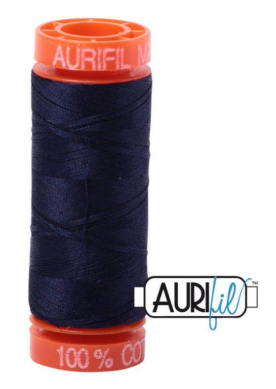 Aurifil- 2785 (Very Dark Navy) x 220 yds