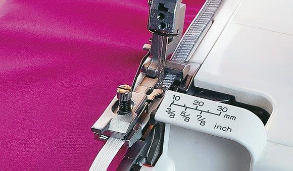 INSPIRA Overlock Elastic Foot - 7393033058869