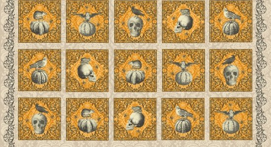 CLEARANCE- BLANK QUILTING All Hallows Eve (Panel)