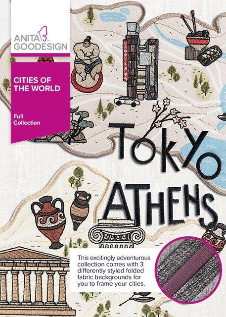 ANITA GOODESIGN- Cities of the World