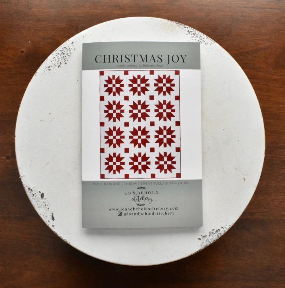 Lo & Behold Stitchery- Christmas Joy