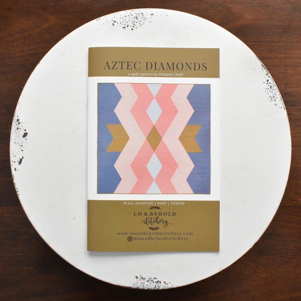 Lo & Behold Stitchery- Aztec Diamonds