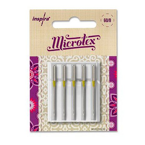 INSPIRA- Microtex Needle (size 60/8, 5 pk)