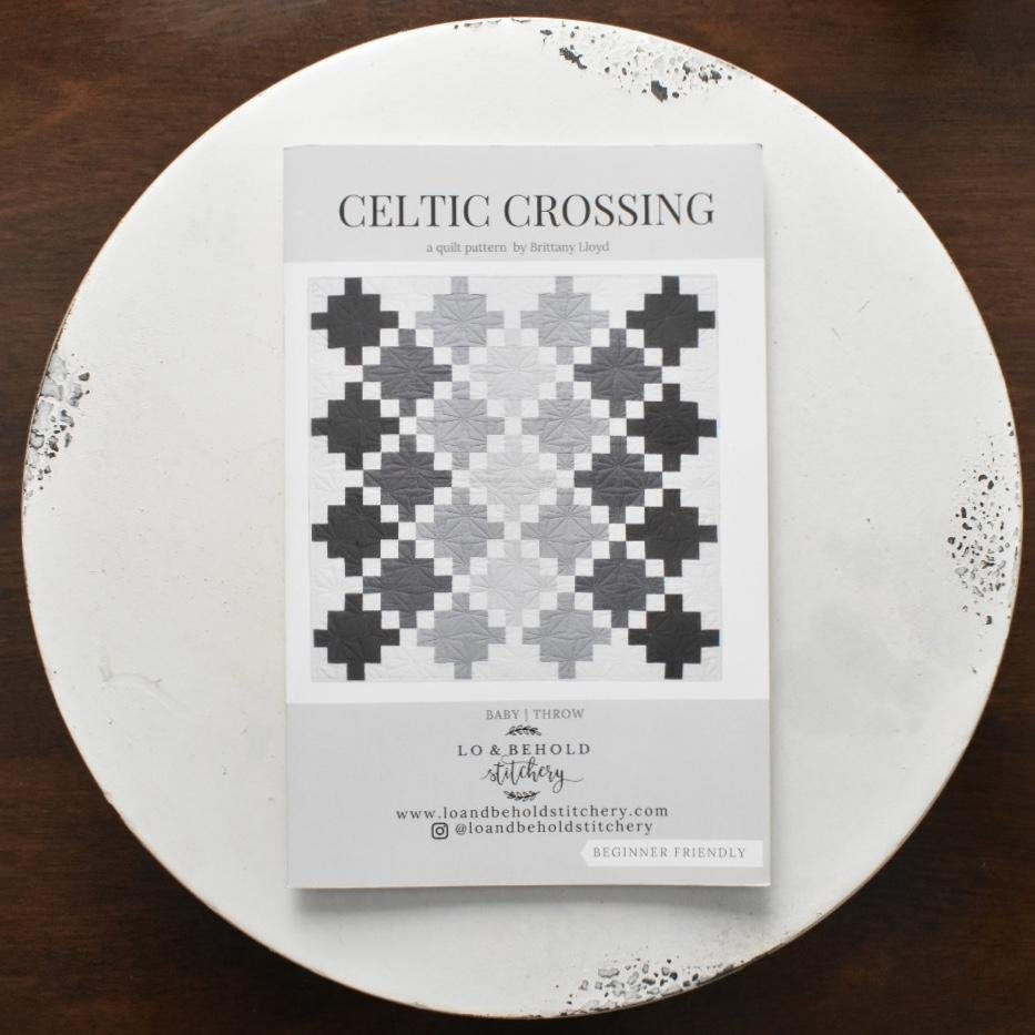 Lo & Behold Stitchery- Celtic Crossing