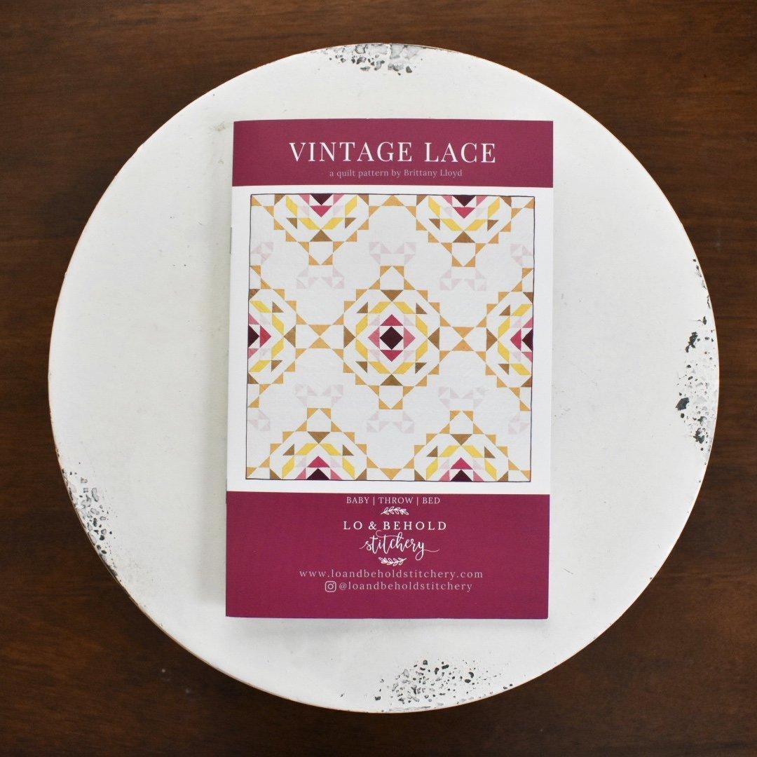 Lo & Behold Stitchery- Vintage Lace