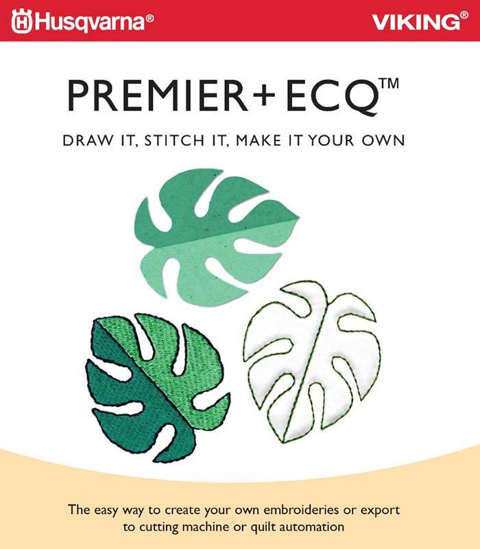 PREMIER+ ECQ Embroider Cut Quilt