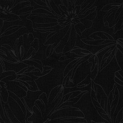 CLEARANCE- Maywood Studio: Black with White Flowers outline