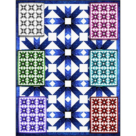 Pine Tree Country Quilting- Bohemian Stars
