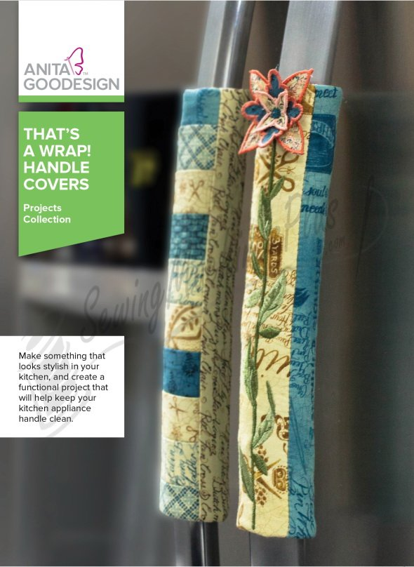 ANITA GOODESIGN- That's A Wrap Handle Covers