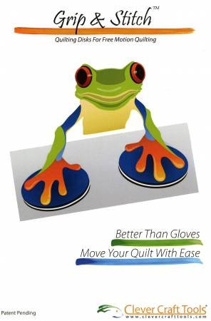 Grip & Stitch Quilting Disks 2pc
