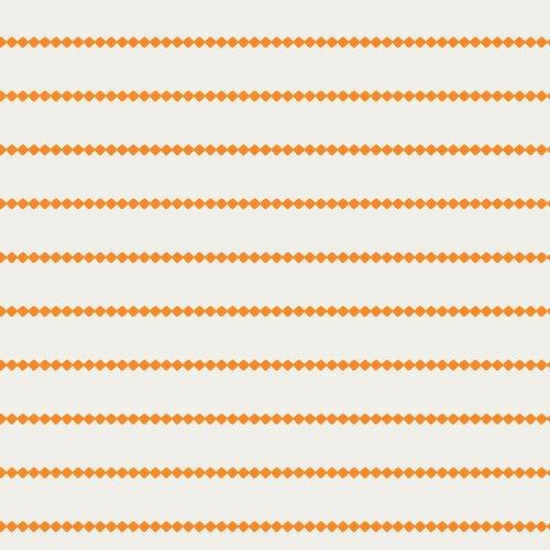 Summer Side (Seaside Stripes Tangerine)