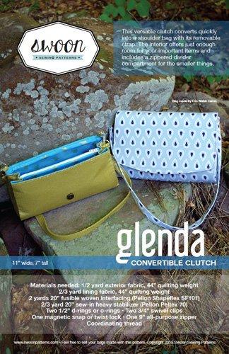 SWOON SEWING PATTERNS Glenda Clutch - 635797629013