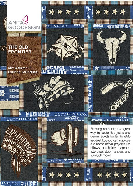ANITA GOODESIGN- The Old Frontier