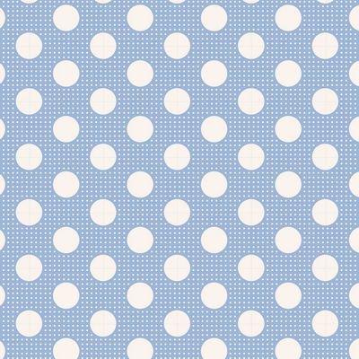 Tilda- Medium Dots (Blue)