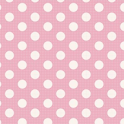 Tilda- Medium Dots (Pink)
