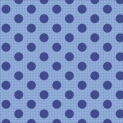 Tilda- Medium Dots (Denim Blue)