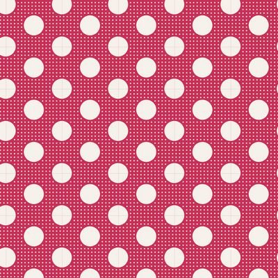Tilda- Medium Dots (Red)