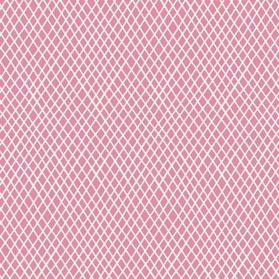 Tilda- Basic Classics- Crisscross (Pink)