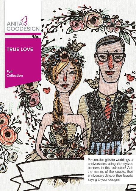 CLEARANCE- ANITA GOODESIGN - True Love