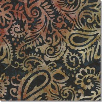 SEWBATIK 44 Rayon - Paisley Esprit - Inky Sky