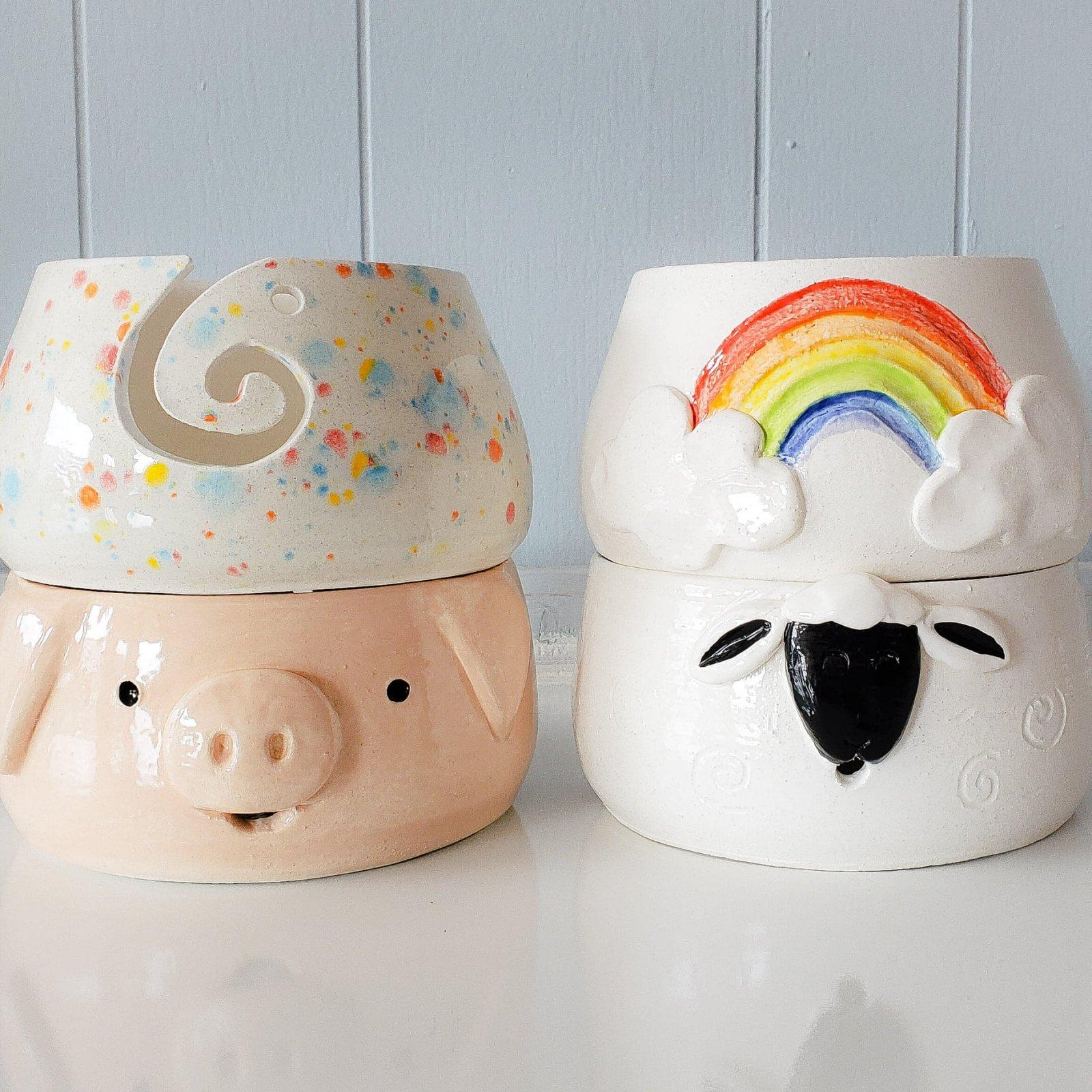 Pottery Yarn Bowls