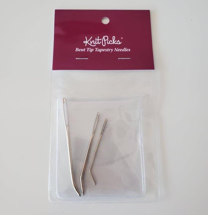 Bent tapestry needles