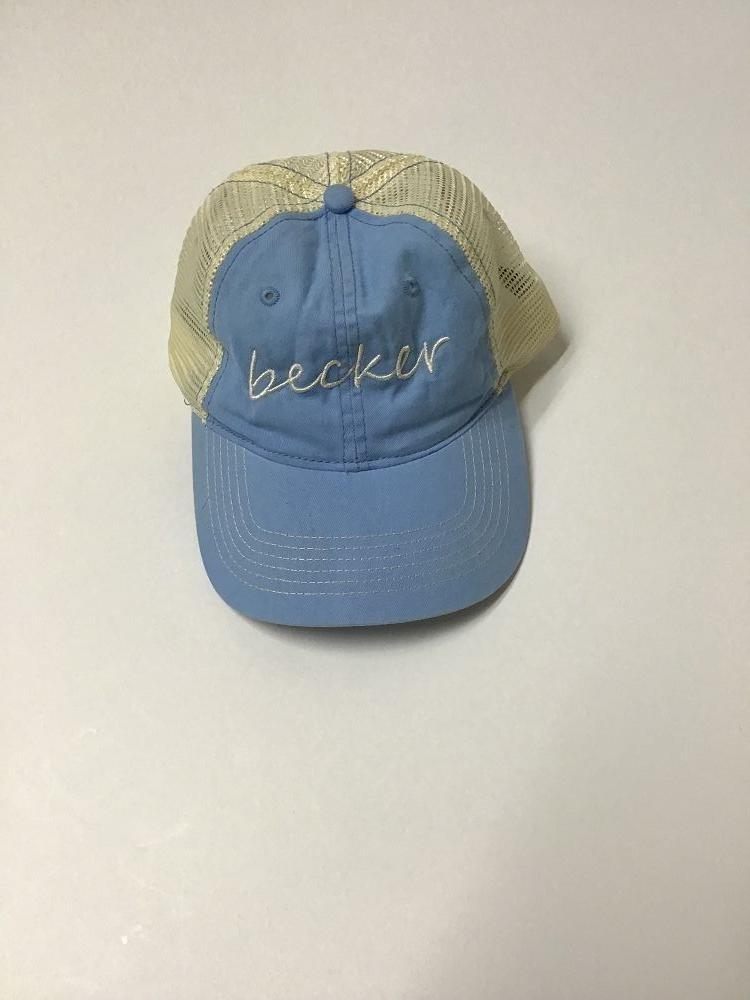 ZK641 Becker Light Blue Cap